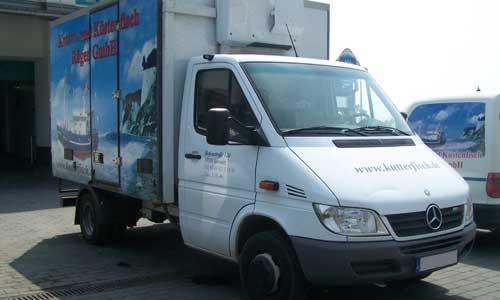 Kutterfisch Sassnitz Bestellung und Auslieferung